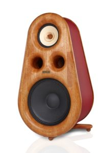 High End Euphoria fullrange speakers with bass driver